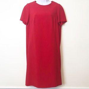 Jones New York • Gorgeous Red Sheath Dress NWT